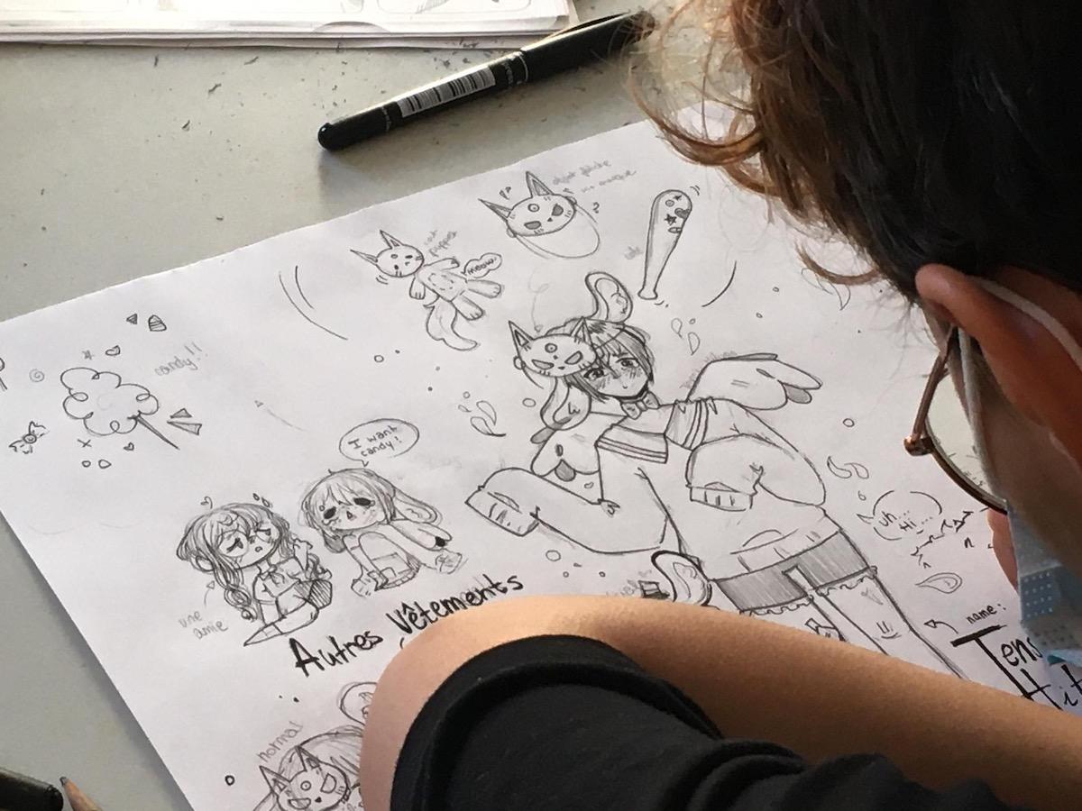 Cours de dessin BD/Manga